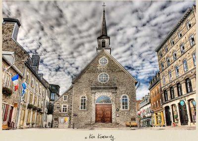 Notre-Dame-des-Victoires à Québec