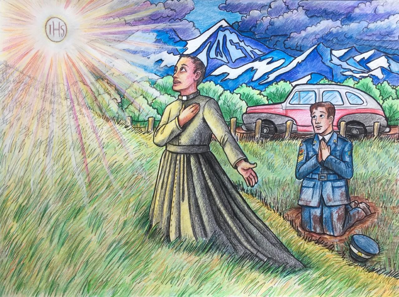 Le miracle eucharistique de Cowley, Alberta Image