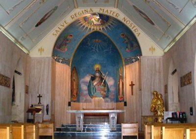 Intérieur de la chapelle du Mont Saint-Joseph