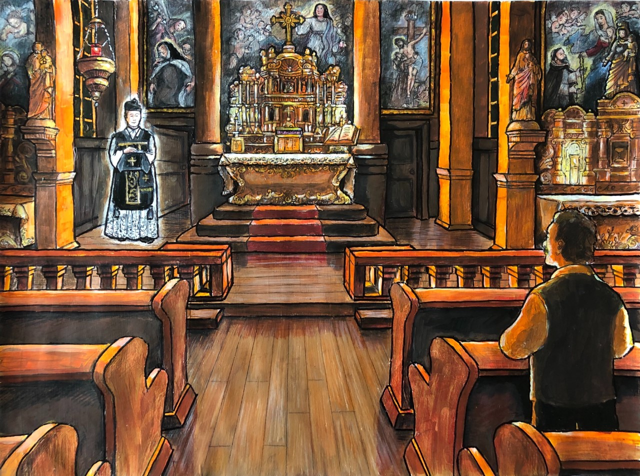La pénitence du prêtre-fantôme de l'Ile-Dupas Image
