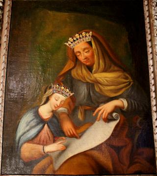 A miraculous image of Saint Ann Image