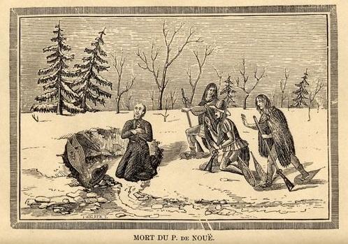La mort héroïque du Père Anne de Nouë Image
