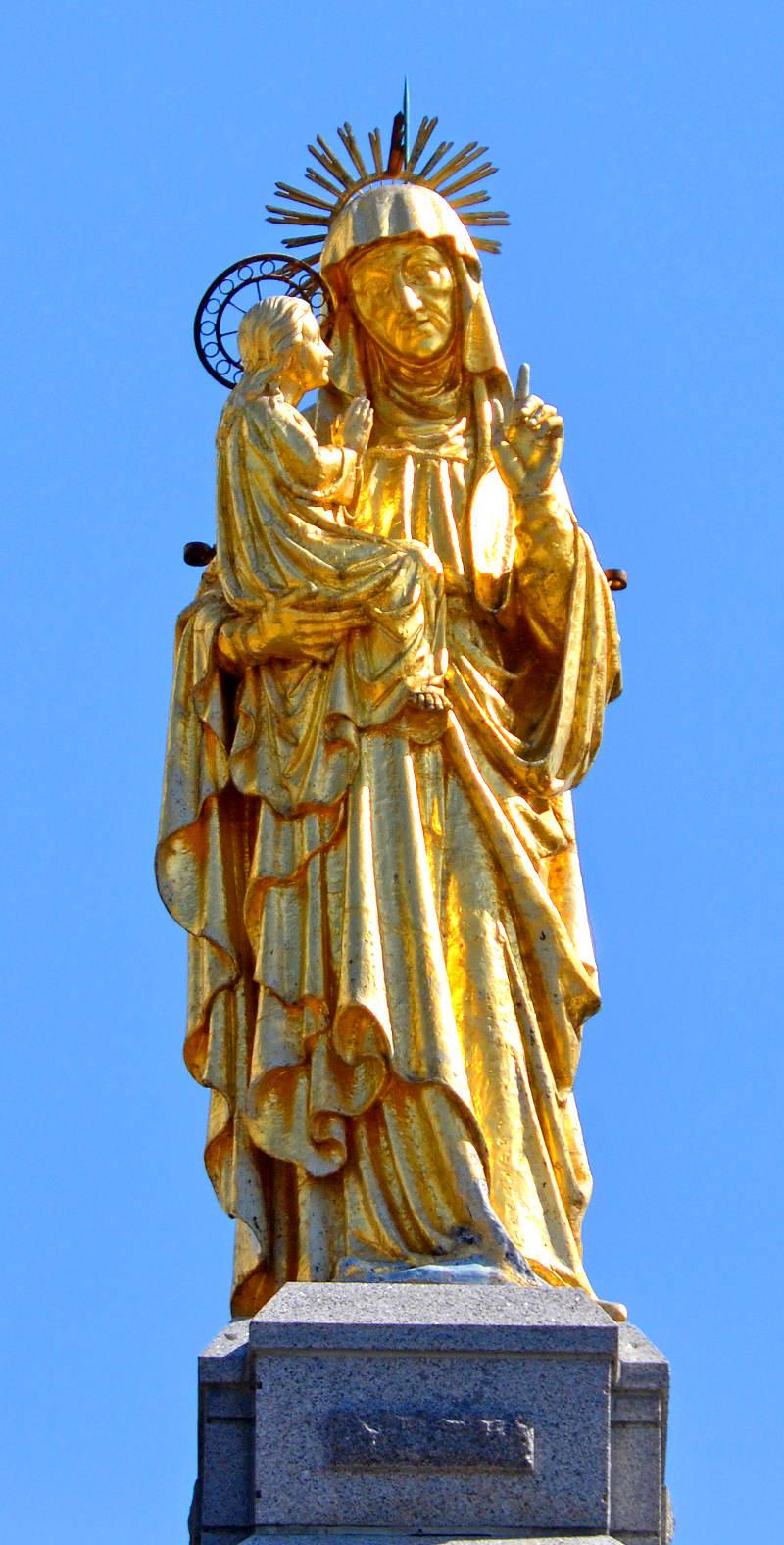 Les deux statues miraculeuses de Sainte-Anne-de-Beaupré Image