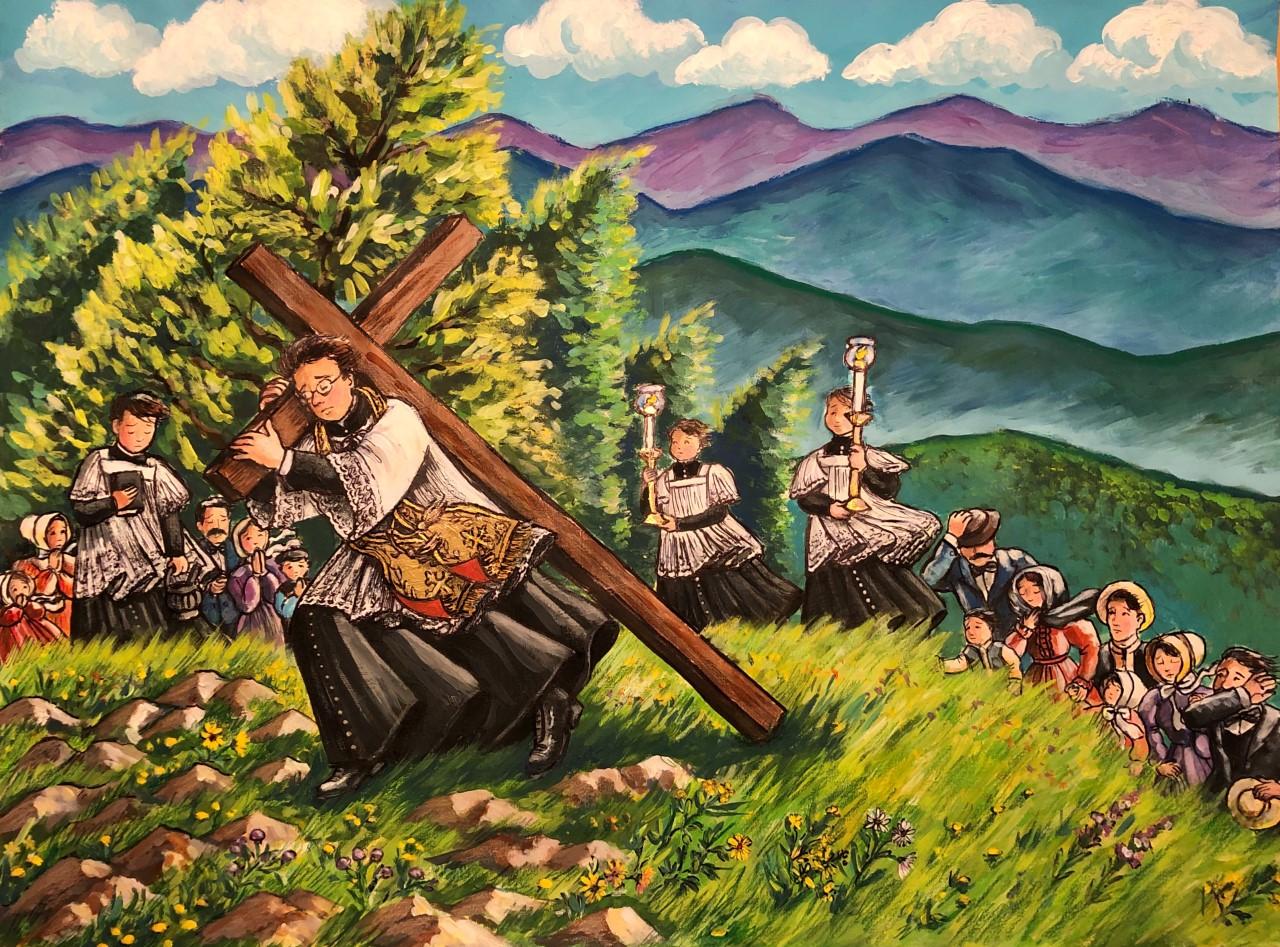 La croix du Mont Saint-Joseph Image