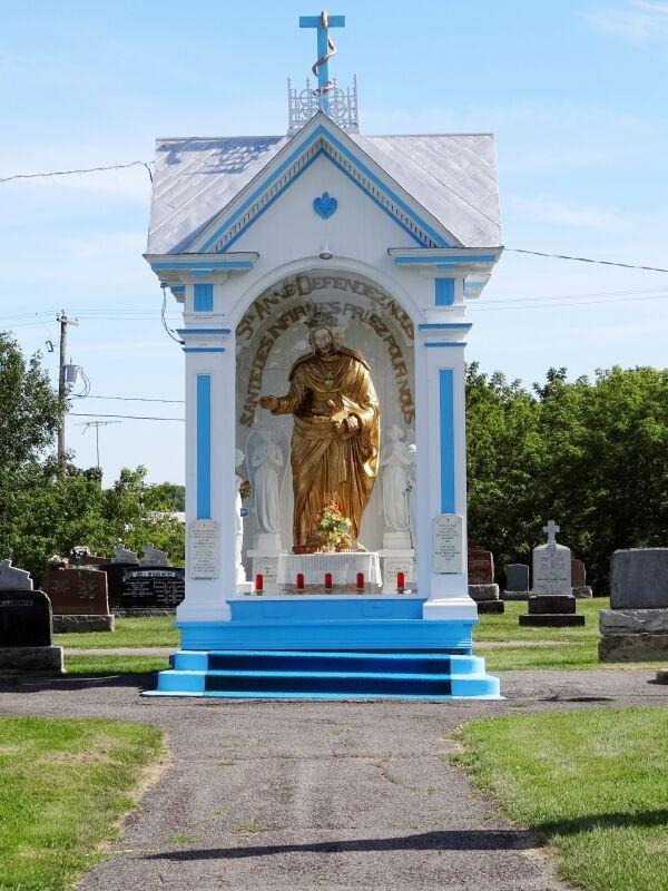 La statue miraculeuse de Sainte-Anne-de-Yamachiche Image
