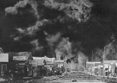 Le grand feu de Matheson