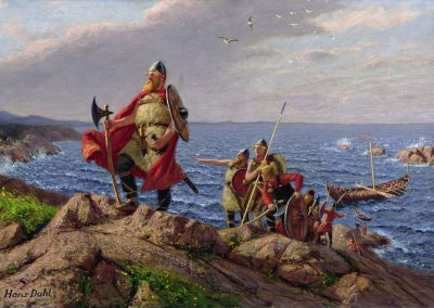 Leif Erikson débarque en Amérique