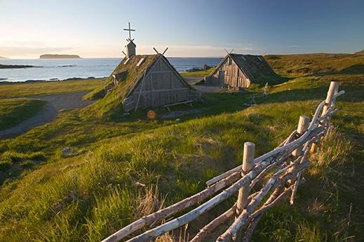 The catholic faith of the Vikings in Canada Image