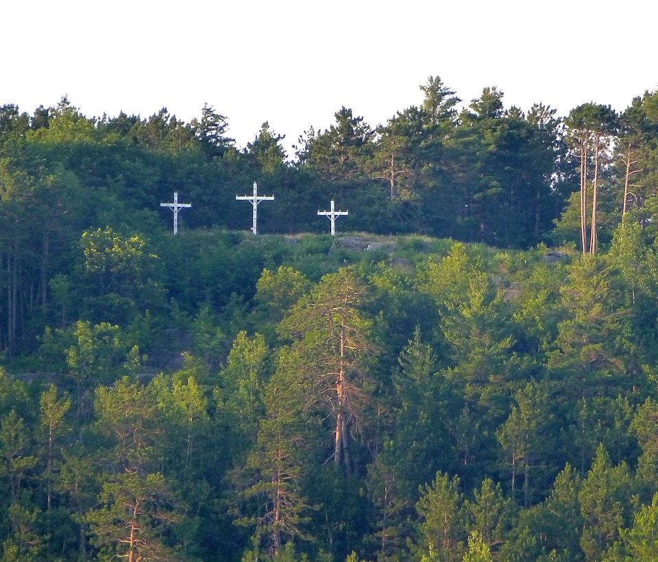 Les trois croix de promesse Image