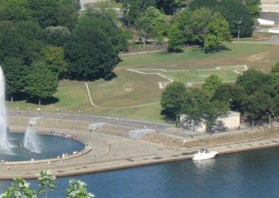 Site du fort Duquesne