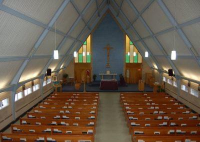 Intérieur de l'église Notre-Dame-de-Fatima, Fredericton
