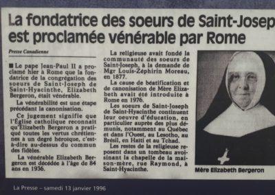 La Presse - samedi 13 janvier 1996