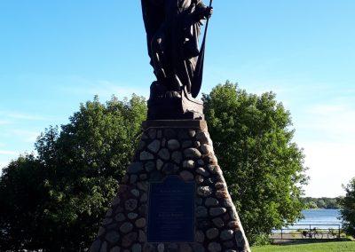 Monument à St Jean de Brébeuf, à Gatineau.