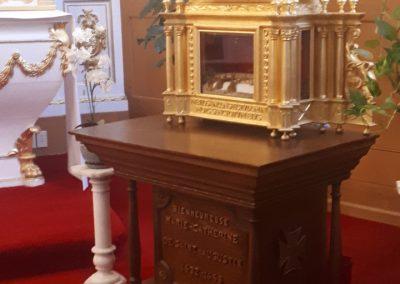 Reliques de Catherine de St-Augustin