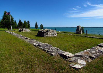 Ruines de l'ancien Fort Saint-Joseph, Ontario