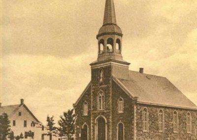 Ancienne église de Rawdon et son presbytère