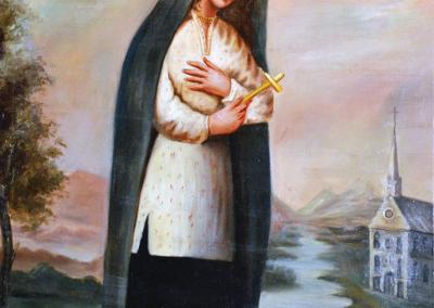 Kateri Tekakwitha, selon la vision du Père Claude Chauchetière