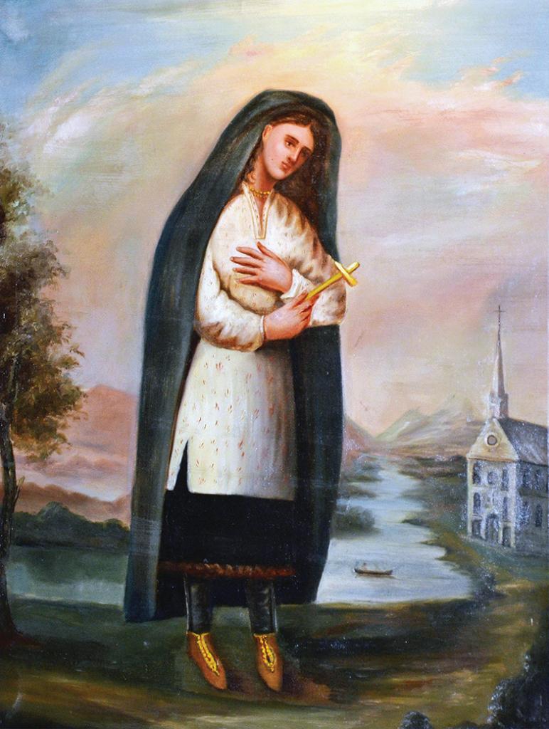 Saint Kateri Tekakwitha Image