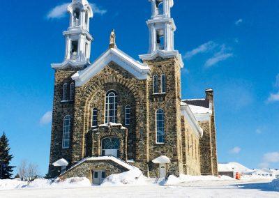 L'église de Sainte-Anne-de-Madawaska
