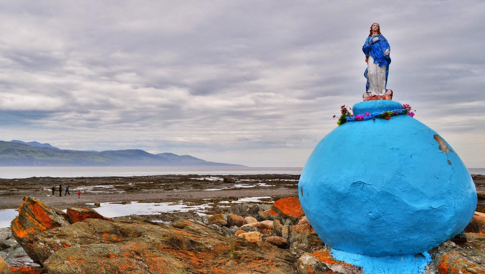 La Vierge sur le rocher Image