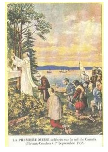 Messe du 7 septembre 1535