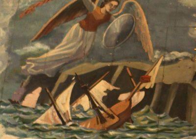 Peinture en l'honneur du miracle de 1711