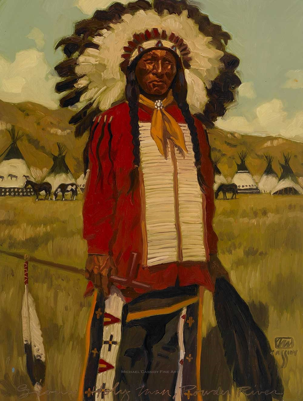 Une prisonnière des Sioux délivrée par Marie Image