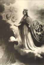 Marie apparaît à Marguerite Bourgeoys pour lui dire d'aller à Montréal
