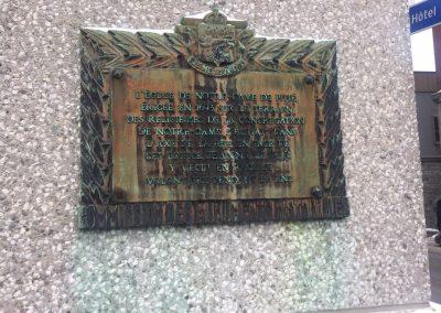 Monument dans le Vieux-Montréal