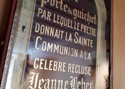Porte de réclusion se trouvant dans la maison Saint-Gabriel, à Montréal