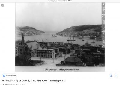 Saint John, Terre-Neuve