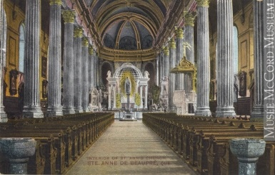 Sainte-Anne-de-Beaupré avant le feu de 1921