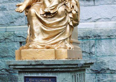 Statue de Notre-Dame-de-Rocamadour à Québec