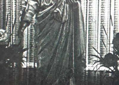 Statue de Saint Joseph qui fit naufrage