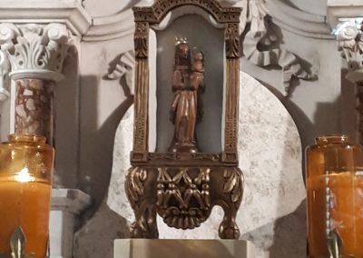 Statue miraculeuse rapportée par Marguerite Bourgeoys