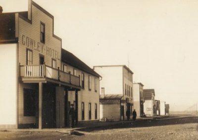 Ancienne photo de la ville de Cowley