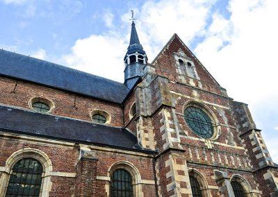 Chapelle du collège d'Eu, France