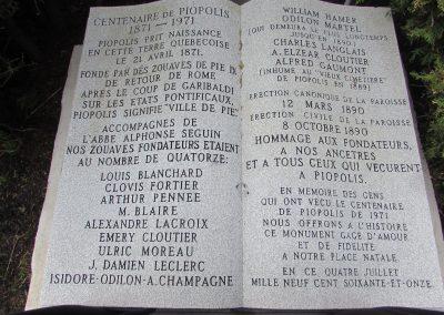 Commémoration des Zouaves