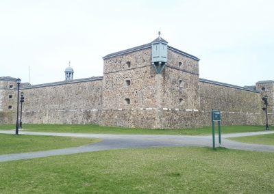 Fort Chambly construit le long de l'ancienne rivière des Iroquois