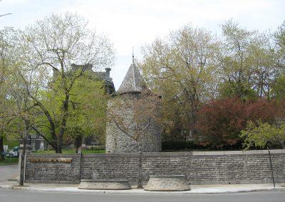 Fort de la Montagne, endroit où Marguerite Bourgeoys enseigna