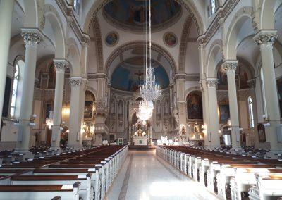 Inside the basilica Ste-Anne-de Varennes