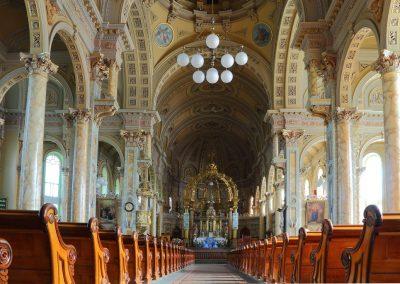 Intérieur de l'église Notre-Dame-des-Neiges, Trois-Pistoles