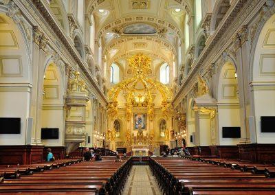 Intérieur de la Basilique-Cathédrale Notre-Dame de Québec