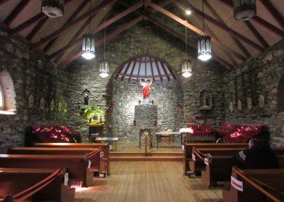 Intérieur de la chapelle de Beauvoir