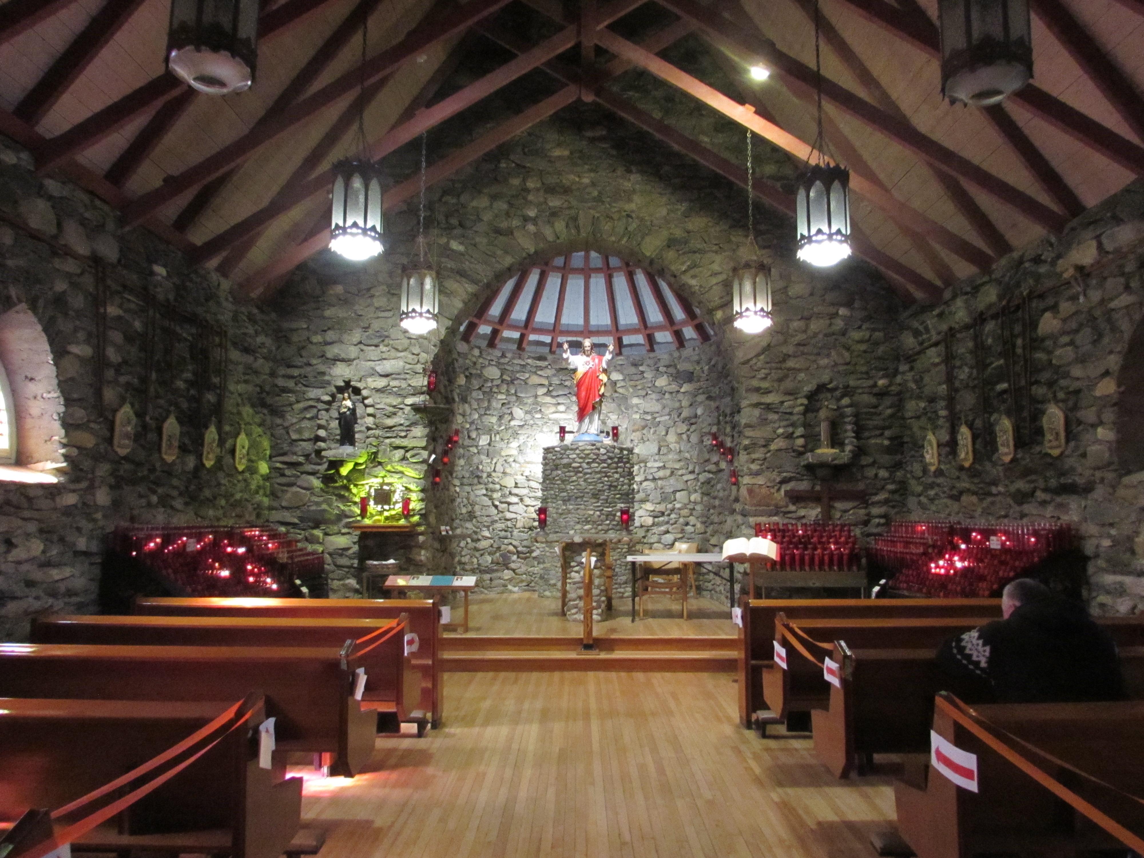 Le sanctuaire du Sacré-Coeur à Beauvoir Image