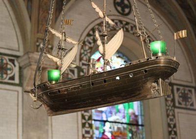 Le navire votif, réplique de L'Idaho
