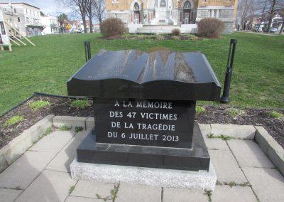 Mémorial pour les victimes de 2013