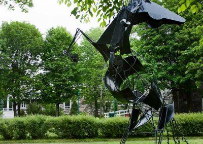 Monument du cheval noir de Trois-Pistoles