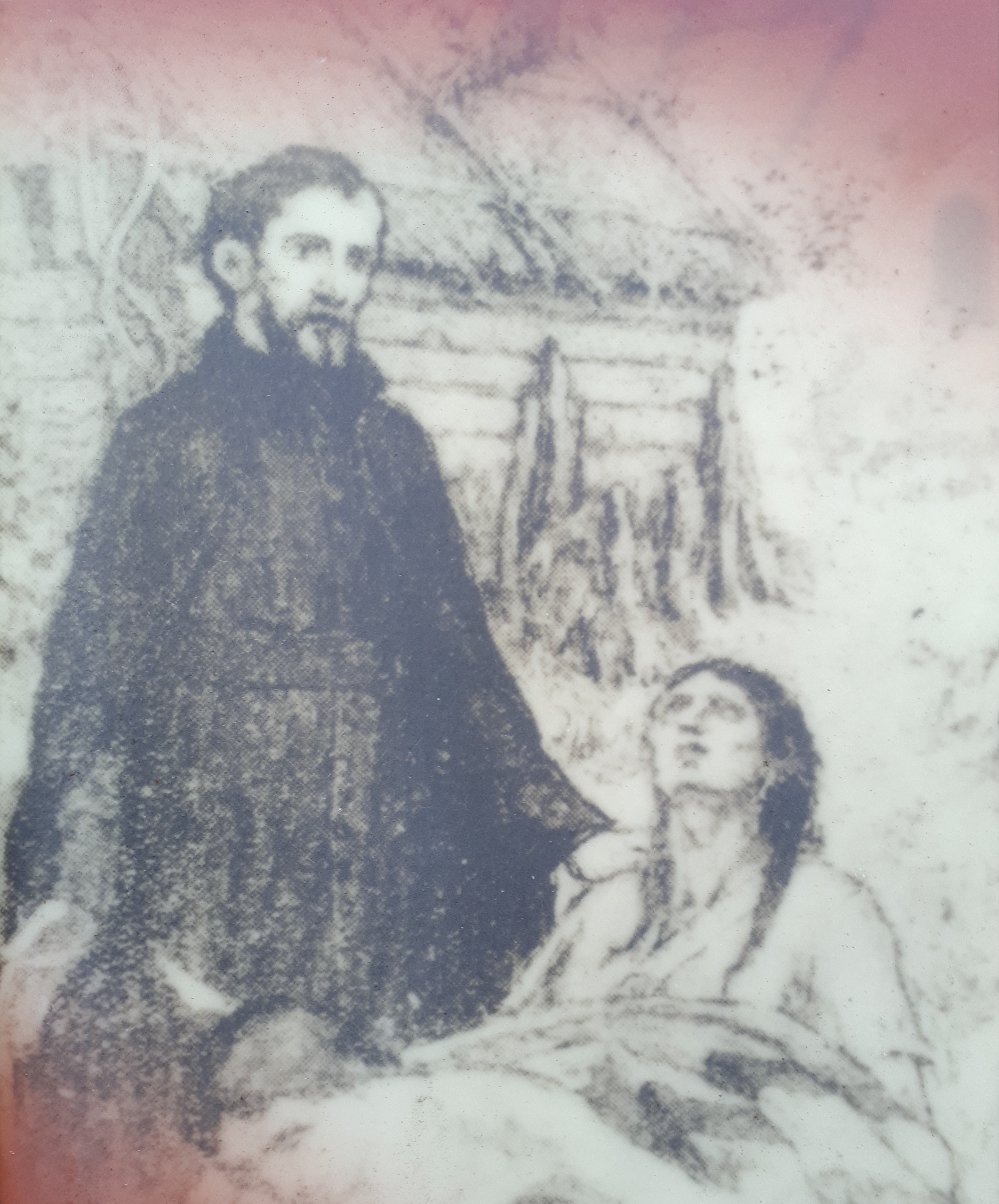 Father Jacques Buteux, Martyr Image