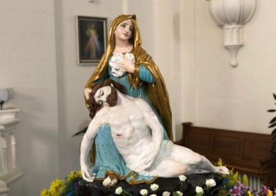 Pietà miraculeuse à Ponteix, Saskatchewan